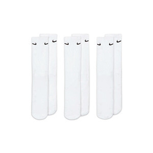 Pack calcetines tobilleros Nike Everyday Cushion Ankle 3p - Pack de 3 calcetines Nike Everiday Cushion tobilleros - blancos - frontal