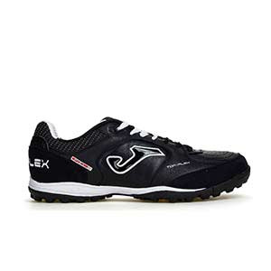 Joma Top Flex TF - Zapatillas multitaco Joma suela turf - Negro - pie derecho