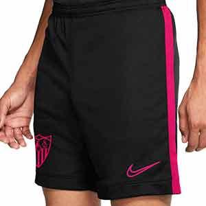 Short Nike Sevilla entreno 2020 2021 - Pantalón corto entrenamiento Nike Sevilla FC 2020 2021 - negro - frontal