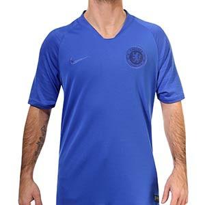 Camiseta Nike Chelsea entreno 2019 2020 Strike - Camiseta entrenamiento Nike Chelsea 2019 2020 - azul - frontal