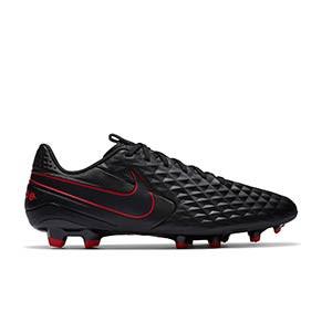 Nike Tiempo Legend 8 Academy FG/MG - Botas de fútbol Nike de piel FG/MG para césped artificial - negras - pie derecho