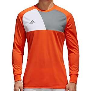 Camiseta portero adidas Assita 17 GK - Camiseta de portero de manga larga acolchada adidas - naranja - frontal