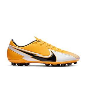 Nike Mercurial Vapor 13 Academy AG - Botas de fútbol Nike AG para césped artificial - amarillo anaranjado - pie derecho