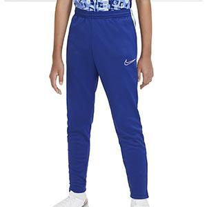 Pantalón Nike niño Therma Academy - Pantalón largo infantil de entrenamiento Nike - azul - frontal