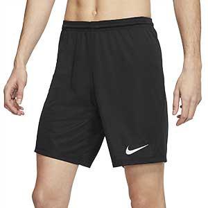 Short Nike Dri-Fit Park 3 - Pantalón corto de entrenamiento Nike - negro - frontal
