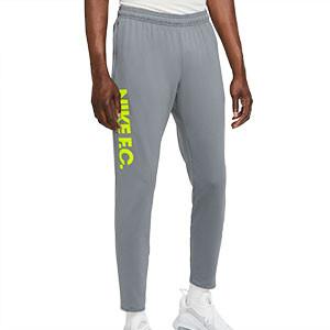Pantalón Nike FC Essential - Pantalón largo de calle Nike F.C. - gris - frontal