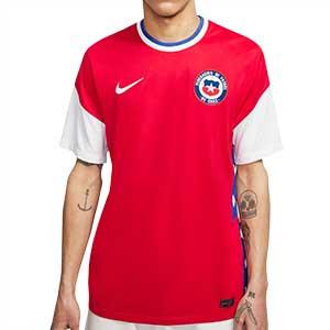 Camiseta Nike Chile 2020 2021 Stadium - Camiseta primera equipación Nike de la selección de Chile 2020 2021 - roja - frontal
