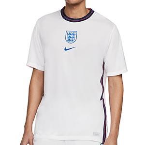 Camiseta Nike Inglaterra 2020 2021 Stadium - Camiseta primera equipación Nike de la selección de Inglatera 2020 2021 - blanca - frontal