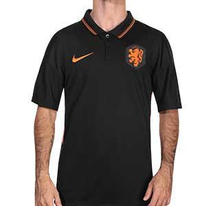 Camiseta Nike Holanda 2a 2020 2021 Stadium - Camiseta segunda equipación selección de Holanda 2020 2021 - negro - frontal
