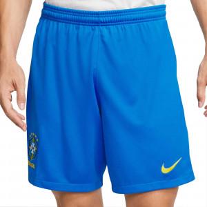 Short Nike Brasil 2020 Stadium - Pantalón corto primera equipación Nike selección Brasil 2020 - azul - frontal