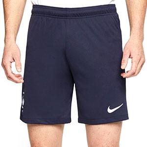 Short Nike Francia 2020 2021 Stadium - Pantalón corto primera equipación Nike selección de Francia 2020 2021 - azul marino - frontal
