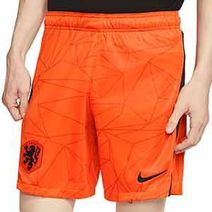 Short Nike Holanda 2020 2021 Stadium - Pantalón corto primera equipación Nike selección Holanda 2020 2021 - naranja - frontal