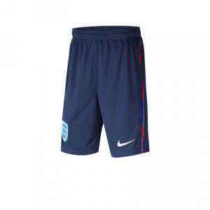 Short Nike Inglaterra niño 2020 2021 Stadium - Pantalón corto infantil primera equipación Nike selección Inglesa 2020 2021 - azul marino - frontal