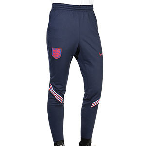 Pantalón Nike Inglaterra 2020 2021 Strike - Pantalón chándal Nike selección inglesa 2020 2021 - azul marino - frontal