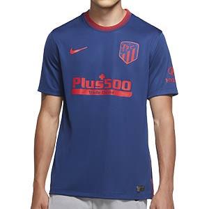 Camiseta Nike 2a Atlético 2020 2021 Stadium - Camiseta segunda equipacón Nike Atlético de Madrid 2020 2021 - azul - frontal