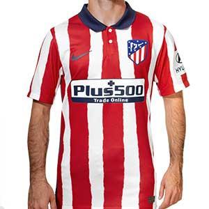 Camiseta Nike Atlético 2020 2021 Stadium - Camiseta Nike primera equipación Atlético de Madrid 2020 2021 - roja y blanca - frontal