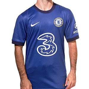 Camiseta Nike Chelsea 2020 2021 Stadium - Camiseta Nike primera equipación Chelsea 2020 2021 - azul - frontal