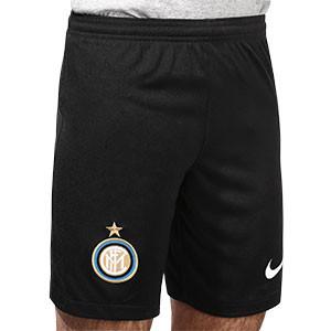 Short Nike Inter 2020 2021 Stadium - Pantalón corto Nike primera equipación Inter de Milán 2020 2021 - negro - frontal