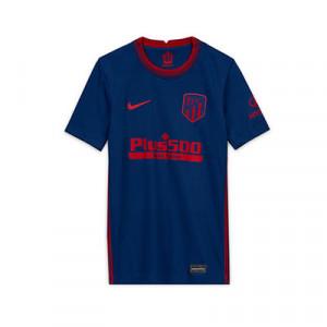 Camiseta Nike 2a Atlético niño 2020 2021 Stadium - Camiseta infantil segunda equipacón Nike Atlético de Madrid 2020 2021 - azul - frontal
