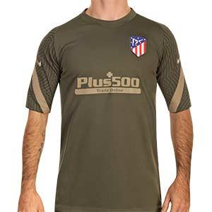 Camiseta Nike Atlético entreno 2020 2021 Strike - Camiseta entrenamiento Nike del Atlético de Madrid 2020 2021 - verde oscuro - frontal