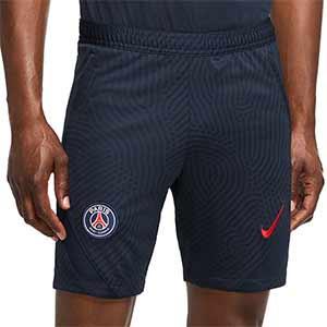 Short Nike PSG entreno 2020 2021 Strike - Pantalón corto de entrenamiento Nike del Paris Saint-Germain 2020 2021 - azul marino - frontal