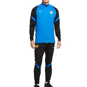 Chándal Nike Inter entreno 2020 2021 Strike - Chándal Nike del Inter de Milán 2020 2021 - azul y negro - miniatura