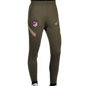 Pantalón Nike Atlético entreno 2020 2021 Strike - Pantalón largo entreno Nike Atlético de Madrid 2020 2021 - verde oscuro - frontal