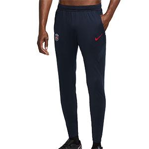 Pantalón Nike PSG entreno 2020 2021 Strike - Pantalón largo de entrenamiento Nike del Paris Saint-Germain 2020 2021 - azul marino - frontal