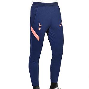 Pantalón Nike Tottenham entreno 2020 2021 Strike - Pantalón largo de entrenamiento Nike del Tottenham Hotspur FC 2020 2021 - azul marino - frontal