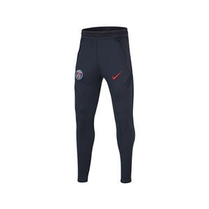 Pantalón Nike PSG niño entreno 2020 2021 Strike - Pantalón largo de entrenamiento infantil Nike del Paris Saint-Germain 2020 2021 - azul marino - miniatura