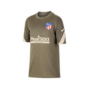 Camiseta Nike Atlético entreno niño 2020 2021 Strike - Camiseta entrenamiento infantil Nike Atlético de Madrid 2020 2021 - verde oscuro - miniatura