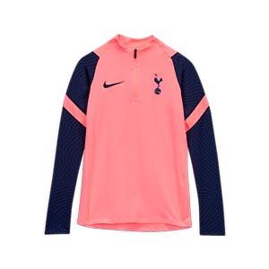 Sudadera Nike niño Tottenham 2020 2021 Strike - Sudadera infantil de entrenamiento Nike del Tottenham Hotspur 2020 2021 - rosa - frontal