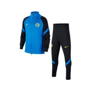 Chándal Nike Inter niño entreno 2020 2021 Strike - Chándal infantil Nike del Inter de Milán 2020 2021 - azul y negro - miniatura