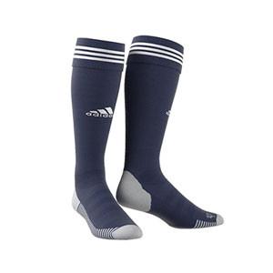 Medias adidas Adisock 18 - Medias de fútbol adidas - azul marino - frontal