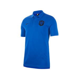 Polo Nike Holanda Modern GSP - Polo oficial Nike de la selección holandesa - azul - frontal