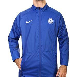 Chaqueta Nike Chelsea entreno Repel Academy 2020 2021 - Chaqueta impermeable de entrenamiento Nike del Chelsea FC 2020 2021 - azul - frontal