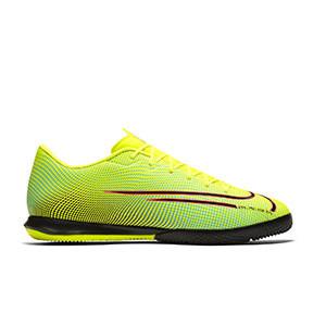 Nike Mercurial Vapor 13 Academy MDS 2 IC - Zapatillas de fútbol sala Nike suela lisa IC - amarillas y verdes