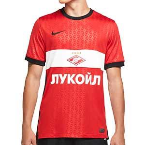 Camiseta Nike Spartak Moscú 2020 2021 Stadium - Camiseta primera equipación Nike FC Spartak Moscú 2020 2021 - roja - frontal