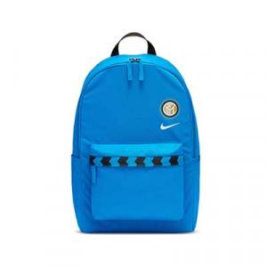Mochila Nike Inter de Milan Stadium - Mochila de deporte Nike del Inter de Milan 2020 2021 - azul turquesa - frontal