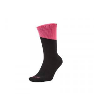 Calcetines Nike Squad - Calcetines media caña para entrenamiento fútbol Nike - negros y rosas - frontal