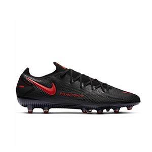Nike Phantom GT Elite AG-PRO - Botas de fútbol Nike AG-PRO para césped artificial - negras - pie derecho
