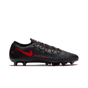 Nike Phantom GT Pro AG-PRO - Botas de fútbol Nike AG-PRO para césped artificial - negras - pie derecho