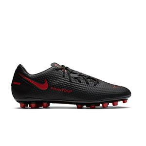 Nike Phantom GT Academy AG - Botas de fútbol Nike AG para césped artificial - negras - pie derecho