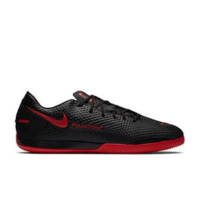 Nike Phantom GT Academy IC - Zapatillas de fútbol sala suela lisa IC - negras - derecho