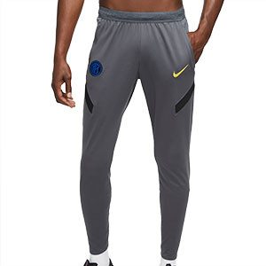 Pantalón Nike Inter entreno UCL 2020 2021 Strike - Pantalón largo entrenamiento Champions League Nike Inter Milan 2020 2021 - gris - frontal