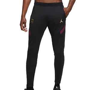 Pantalón Nike PSG entreno UCL 2020 2021 Strike - Pantalón largo de entrenamiento Nike del Paris Saint-Germain de la Champions League 2020 2021 - negro - frontal