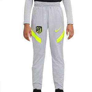 Pantalón Nike Atlético entreno niño UCL 2020 2021 Strike - Pantalón largo de entrenamiento Nike Atlético Madrid de la Champions League 2020 2021 - gris - frontal