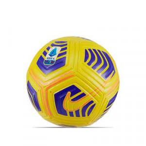 Balón Nike Serie A 2020 2021 Flight Hi-vis talla 5 - Balón de fútbol Nike de la Serie A 2020 2021 de alta visibilidad talla 5 - amarillo - frontal
