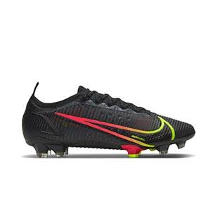 Nike Mercurial Vapor 14 Elite FG - Botas de fútbol Nike FG para césped natural o artificial de última generación - negras - pie derecho