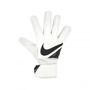 Nike GK Match Jr - Guantes de portero infantiles Nike corte flat - blancos - frontal derecho